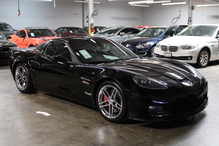 Used 2008 CHEVROLET CORVETTE Z06 for sale $49,995 at Silicon Valley Enthusiast in Hayward CA