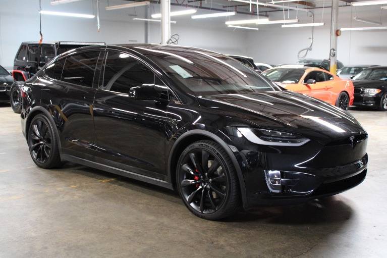 Used 2018 TESLA MODEL X P100D for sale $94,995 at Silicon Valley Enthusiast in Hayward CA