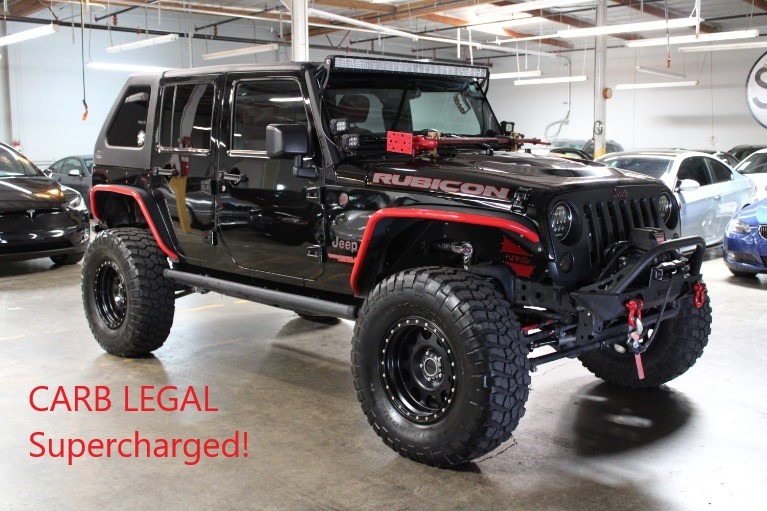 Used 2015 JEEP WRANGLER Rubicon for sale $48,995 at Silicon Valley Enthusiast in Hayward CA