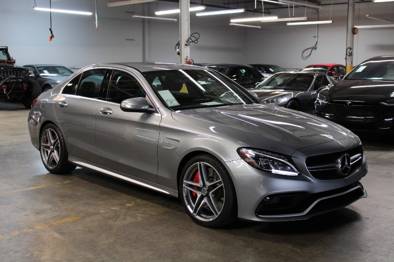 Used 2015 Mercedes-Benz AMG C63 SDN C 63 S AMG for sale $56,995 at Silicon Valley Enthusiast in Hayward CA