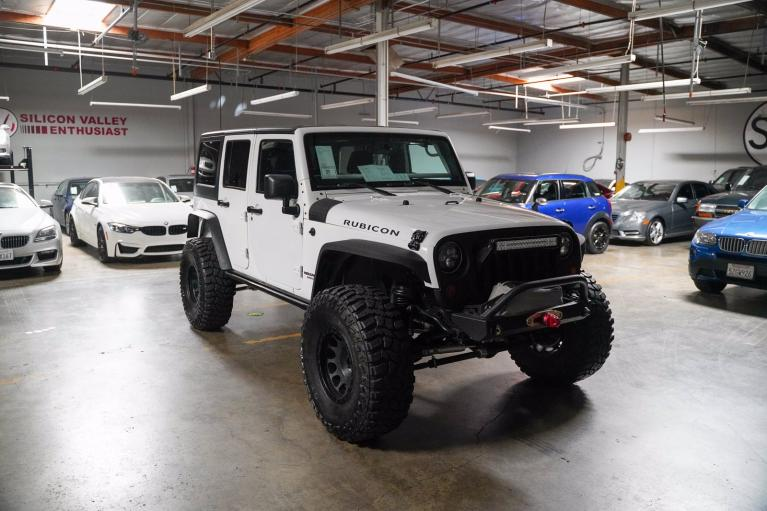 Used 2013 JEEP WRANGLER UNLIM for sale $38,995 at Silicon Valley Enthusiast in Hayward CA